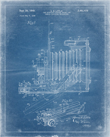 Vintage Camera Patent Print - IndustrialPrints