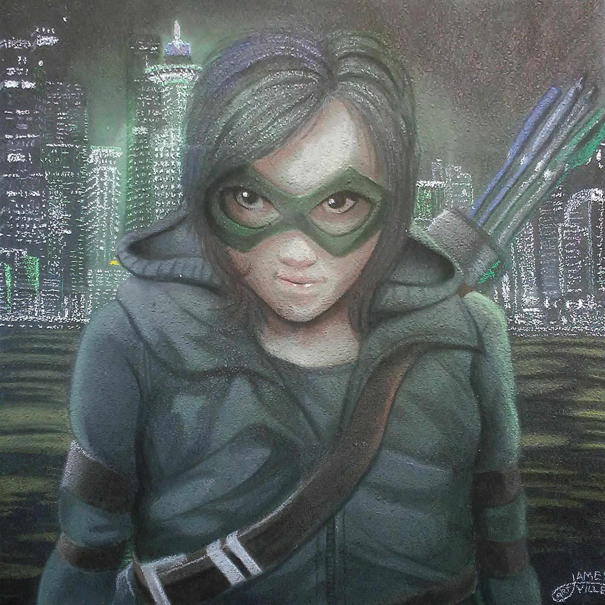 Female Green Arrow
