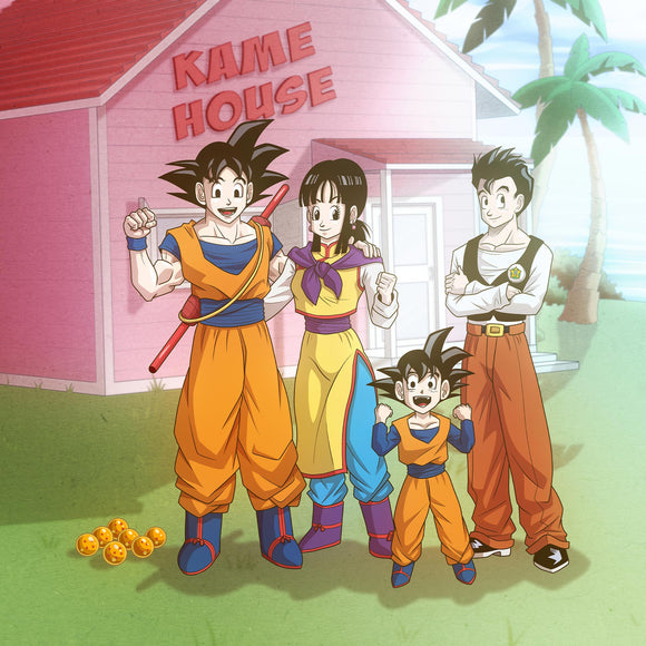 Dragon Ball Family Portrait