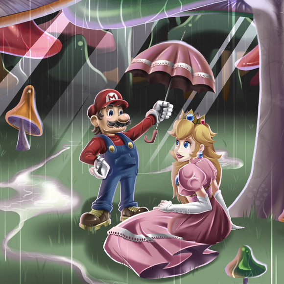 Mushroom Kingdom Couple