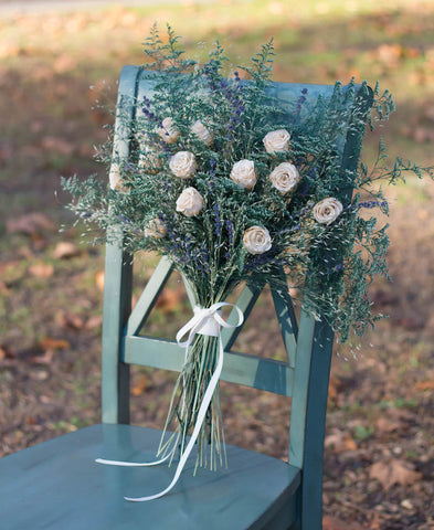 How much do dried wedding flowers cost?