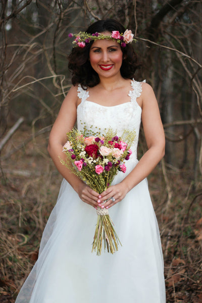 Doree Lee Bridal Bouquet - Pick a Bloom LLC