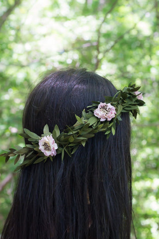 Evie Jane Flower Crown - Pick a Bloom LLC