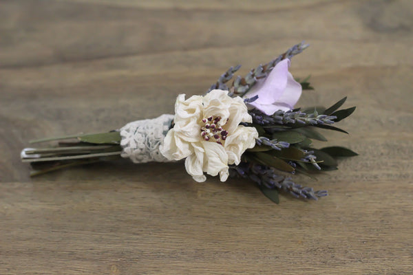 Judy Bea Boutonniere - Pick a Bloom LLC