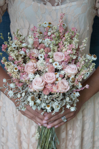 Sara Jean Bridal Bouquet - Pick a Bloom LLC