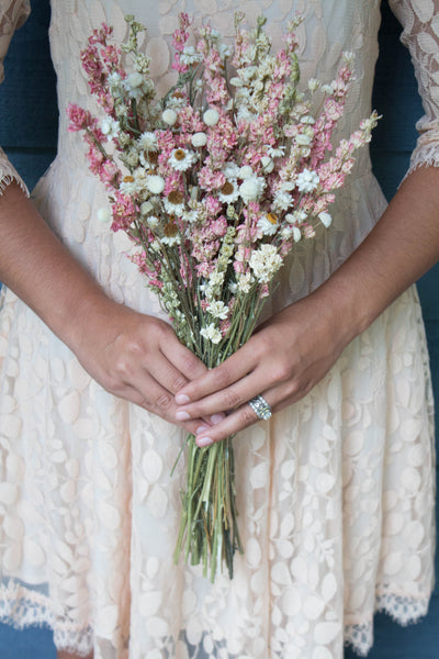 Sara Jean Bridesmaid Bouquet - Pick a Bloom LLC
