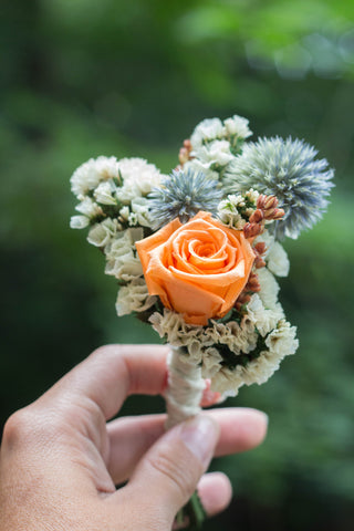 Catherine Marie Boutonniere - Pick a Bloom LLC