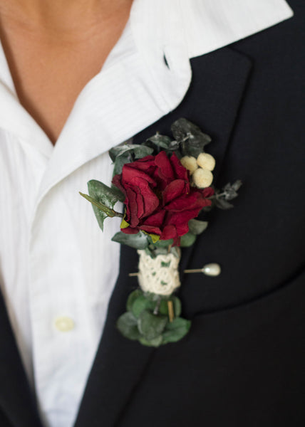 Djuana Jo Boutonniere - Pick a Bloom LLC