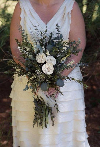 Jeanie Mae Bridal Bouquet - Pick a Bloom LLC