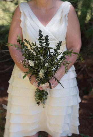Jeanie Mae Bridesmaid Bouquet - Pick a Bloom LLC