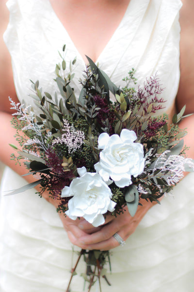 Kaitlyn Joan Collection | Bridesmaid Bouquet - Pick a Bloom LLC