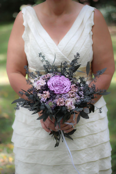 Lillian Grace Bridal Bouquet - Pick a Bloom LLC