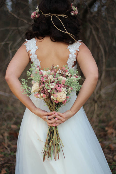 Pammie Ann Bridal Bouquet - Pick a Bloom LLC