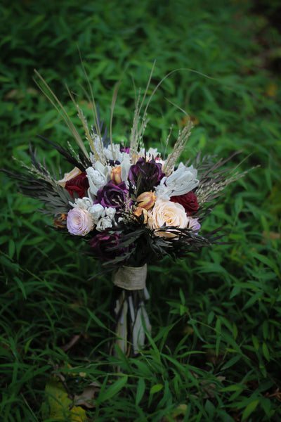 Sandy Pat Bridal Bouquet - Pick a Bloom LLC