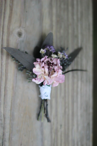 Lillian Grace Boutonniere - Pick a Bloom LLC