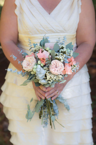Carolyn Sue Bridal Bouquet - Pick a Bloom LLC