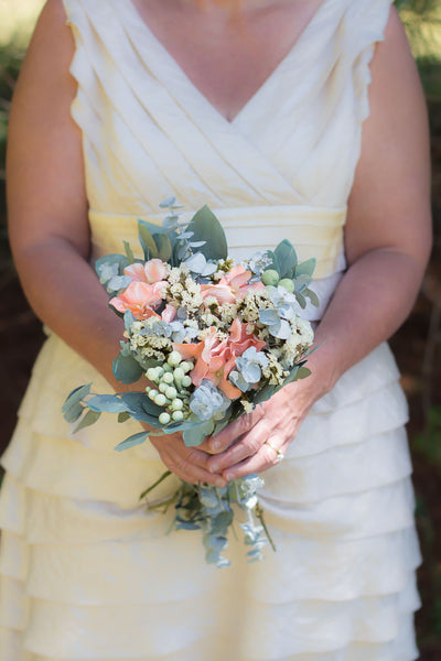 Carolyn Sue Bridesmaid Bouquet - Pick a Bloom LLC
