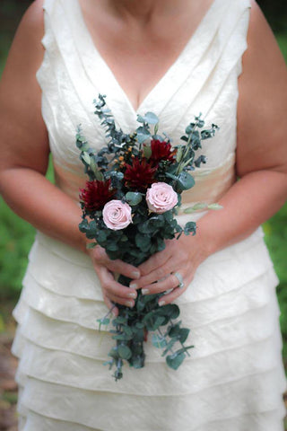 Mimi Fran Blush Bridesmaid Bouquet - Pick a Bloom LLC