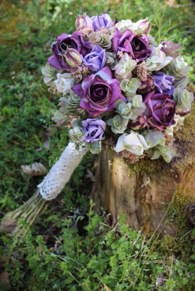 Kathy Louise Bridal Bouquet - Pick a Bloom LLC