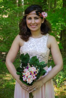 Patricia Adelia Bridesmaid Flower Crown - Pick a Bloom LLC