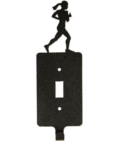 Girl Runner Sgl Switch Plate