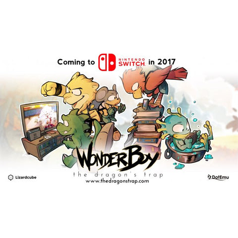 Buy Nintendo Switch WONDER BOY  THE DRAGON'S TRAP