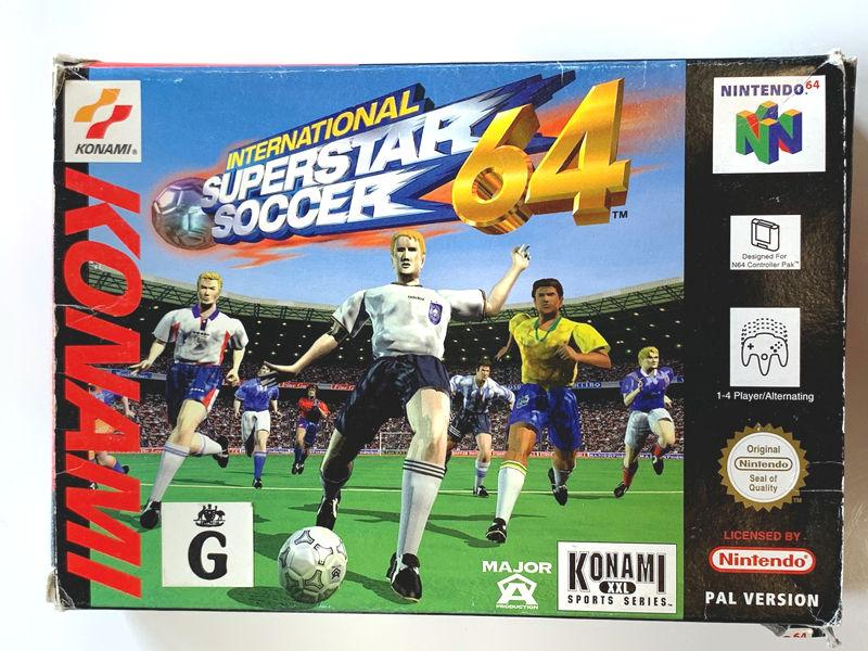 Game | Nintendo 64 N64 | International Superstar Soccer 64