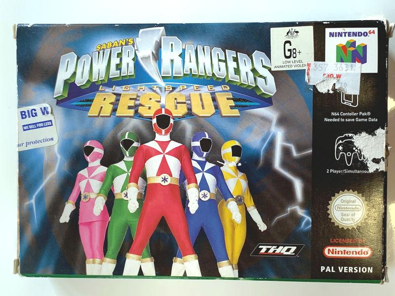 Game | Nintendo 64 N64 | Power Rangers Lightspeed Rescue