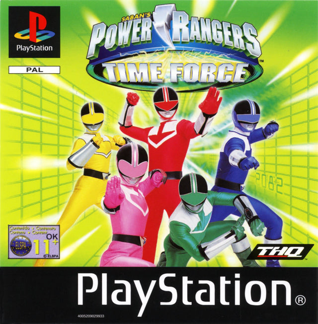 Game | Sony Playstation PS1 | Power Rangers Time Force