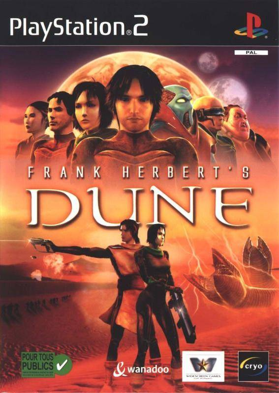 Game | Sony Playstation PS2 | Frank Herbert's Dune