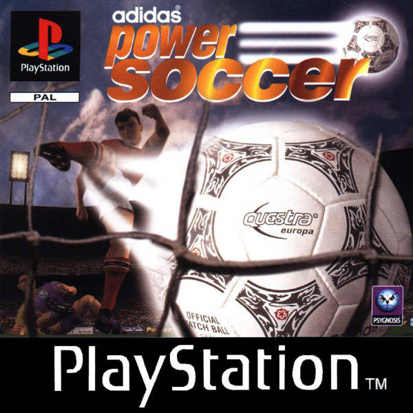 Game | Sony Playstation PS1 | Adidas Power Soccer