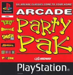 Game | Sony Playstation PS1 | Arcade Party Pak