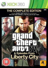 Game | Microsoft XBOX 360 | Grand Theft Auto IV Complete Edition