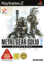 Game | Sony Playstation PS2 | New Metal Gear Solid 2: Subsistence NTSC-J Japan Import