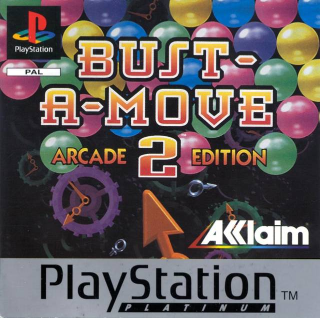 Game | Sony Playstation PS1 | Bust-A-Move 2 Arcade Edition