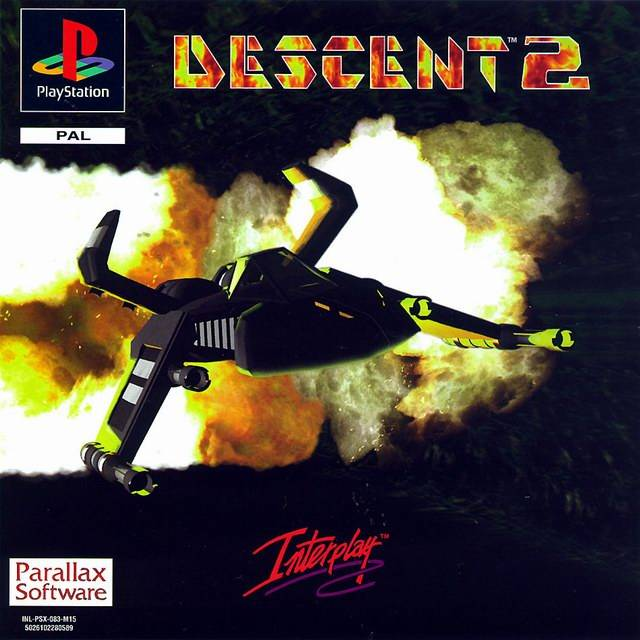 Game | Sony Playstation PS1 | Descent 2
