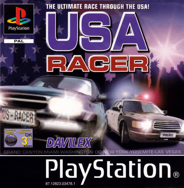 Game | Sony Playstation PS1 | USA Racer