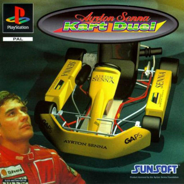 Game | Sony Playstation PS1 | Ayrton Senna Kart Duel