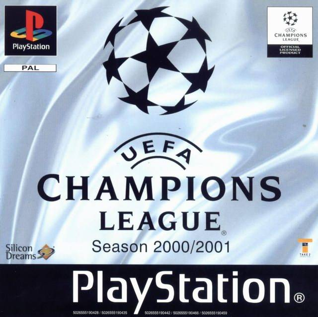 Game | Sony Playstation PS1 | UEFA Champions League Season 2000/2001