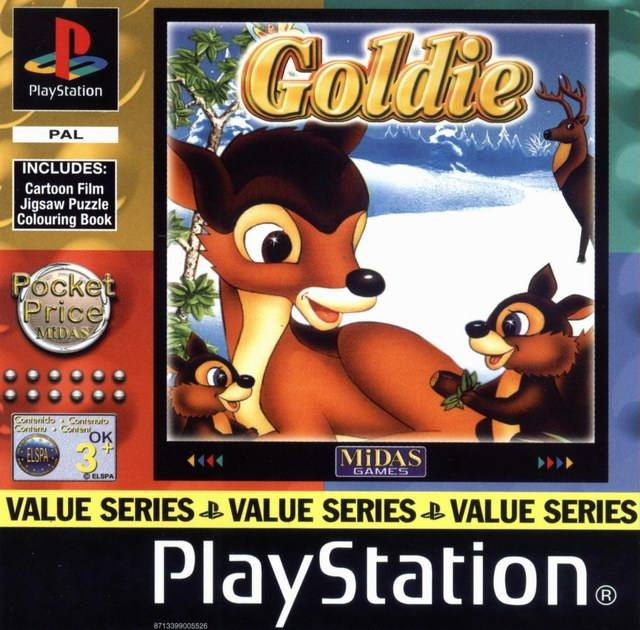 Game | Sony Playstation PS1 | Goldie