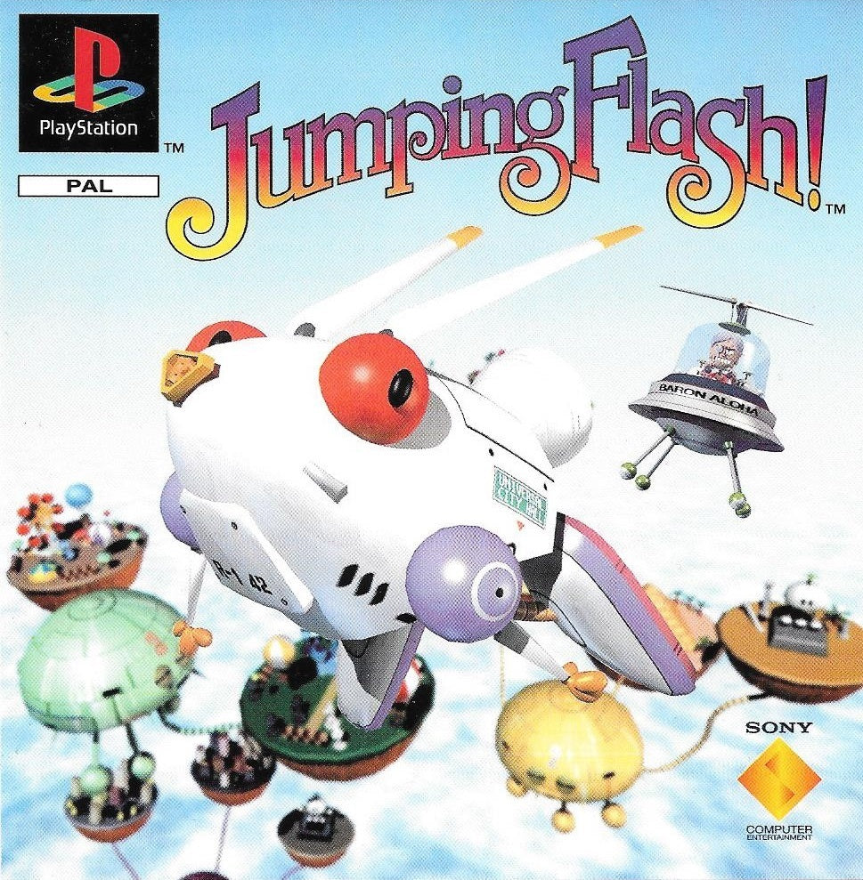 Game | Sony Playstation PS1 | Jumping Flash