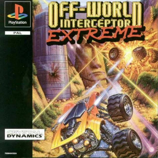 Game | Sony Playstation PS1 | Off-World Interceptor Extreme
