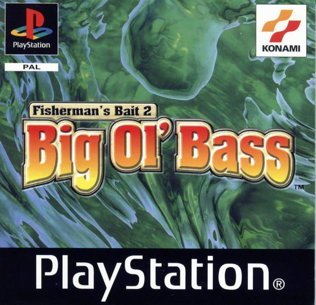 Game | Sony Playstation PS1 | Fisherman's Bait 2 Big Ol' Bass
