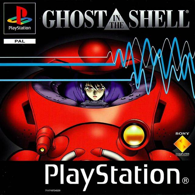 Game | Sony Playstation PS1 | Ghost In The Shell
