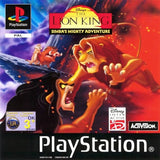 Game | Sony Playstation PS1 | The Lion King Simbas Mighty Adventure