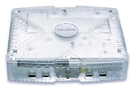 Console | XBOX Crystal Limited Edition Clear Unmodified Original