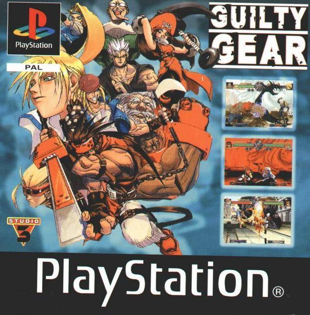 Game | Sony Playstation PS1 | Guilty Gear