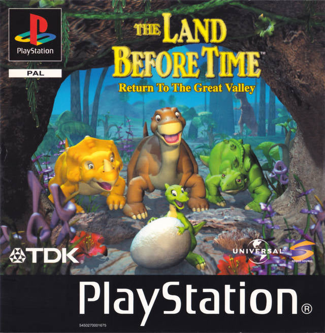 Game | Sony Playstation PS1 | Land Before Time Return To Great Valley