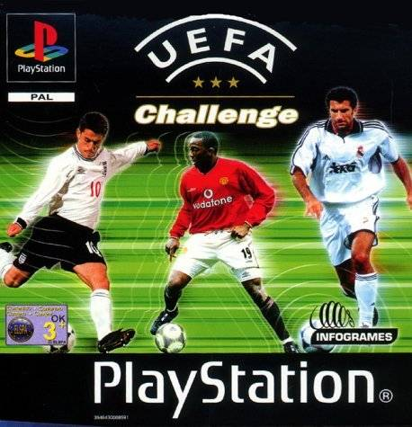 Game | Sony Playstation PS1 | UEFA Challenge