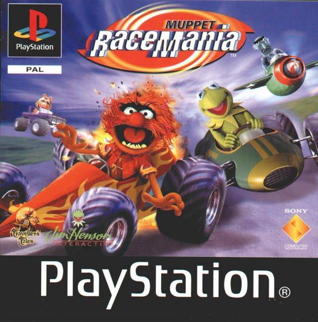 Game | Sony Playstation PS1 | Muppet RaceMania